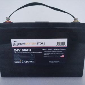24V 60Ah lithium battery