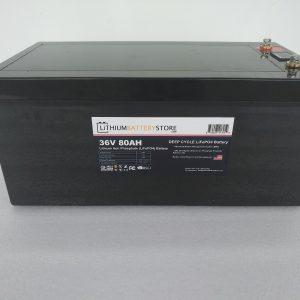 36 volt lithium battery for golf cart